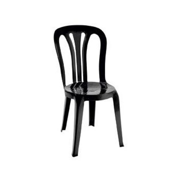 chaises bistrot noires chaise bistrot noire colette lot. Black Bedroom Furniture Sets. Home Design Ideas